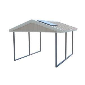 pws premium canopy  ft   ft ash grey  polar
