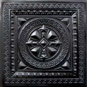 220 faux tin ceiling tile 24x24 black ceiling tile by decorative ceiling tiles inc