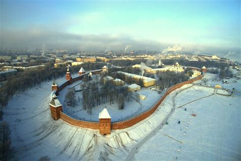 Kremlin Of Novgorod, Russia Europe