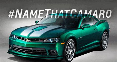 namethatcamaro  chevrolet camaro ss emerald green