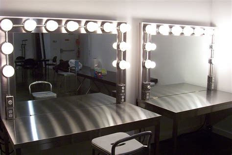 makeup artist station replacement makeup room lights controlbooth