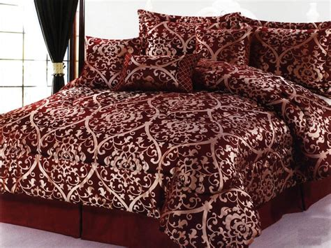 burgundy and gold comforter set king sets ecfq info