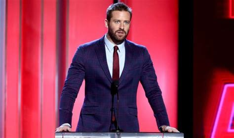 Armie Hammer exits Shotgun Wedding movie after Instagram ...