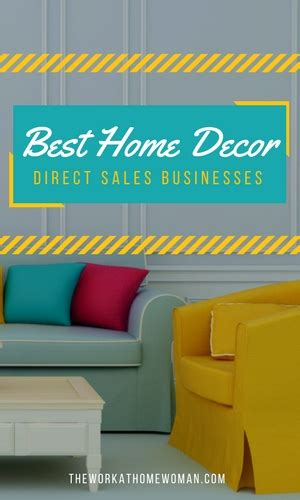 home decor direct sales businesses