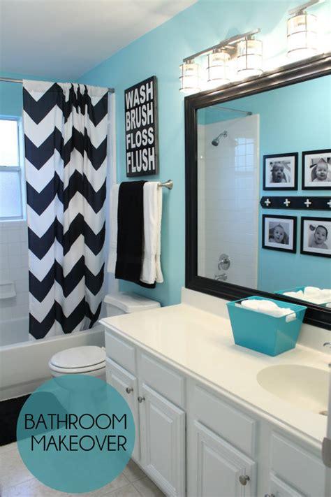 bathroom paint ideas blue bathroom makeover