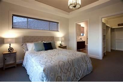 Bedroom Master Window Windows Bed Above Ensuite