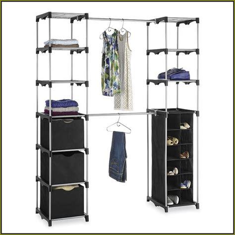 whitmor rod freestanding closet cover home design