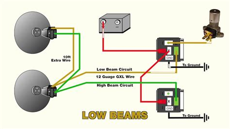 wire headlight relays youtube