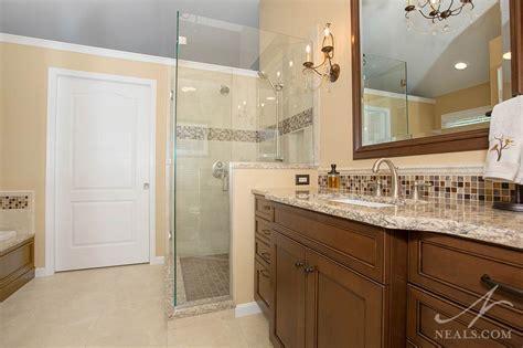cream brown transitional bath neals design remodel