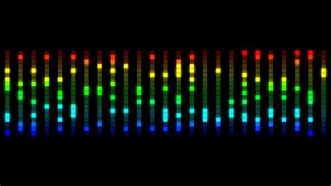 Equalizer Animated Wallpaper - multicolored audio equalizer bars moving animation motion