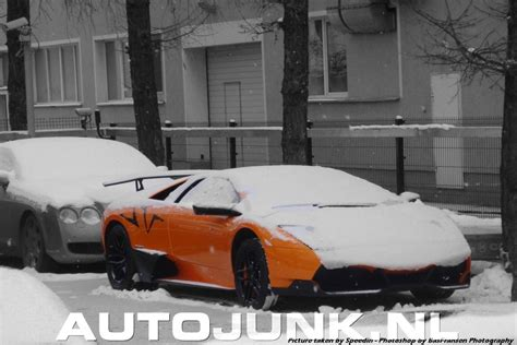 lamborghini lp   sv   snow top speed