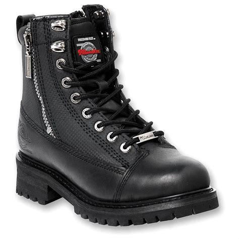 biker boots men men 39 s milwaukee motorcycle accelerator boots black