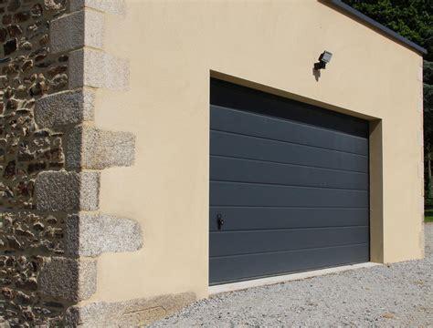 porte garage sectionnelle hormann portes de garage pontivy morbihan la menuis