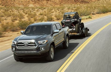 Towing Capacity Of Toyota Tacoma by 2016 Toyota Tacoma Towing Capacity