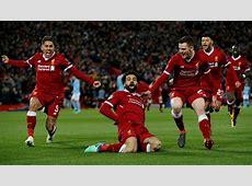 Liverpool venció 21 al Manchester City y clasificó a