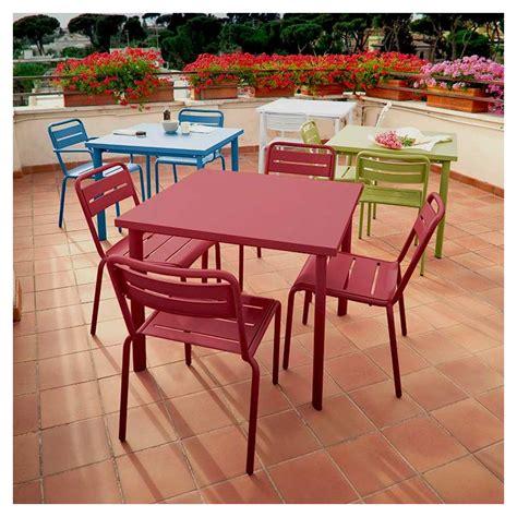 chaise emu chaise de jardin emu empilable acier 11 couleurs