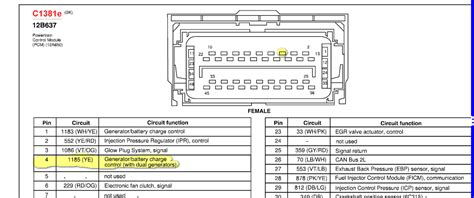 2006 Ford Duty Pcm Wiring Diagram by Why Am I Getting A P1149 Error My Dealer Can T Seem To Fix It