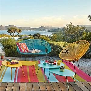 10 accessoires deco pour pimper ma terrasse marie claire With superior deco de terrasse exterieur 17 decoration rideaux romantique