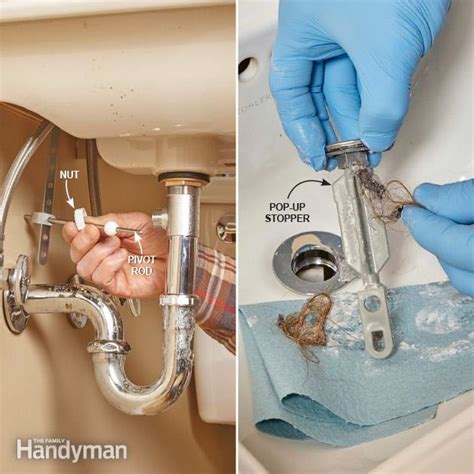 clogged kitchen sink drain how to prevent clogged drains the family handyman 5491