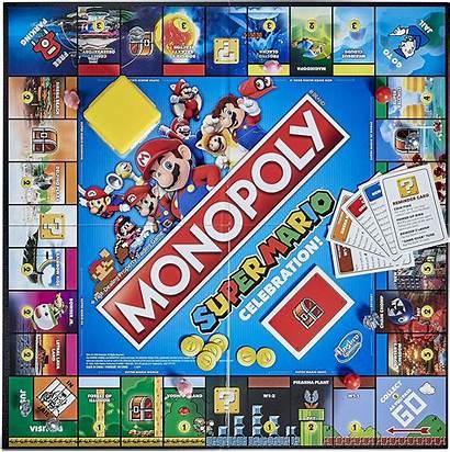 Mario Monopoly Celebration Edition Hasbro Jenga Marios