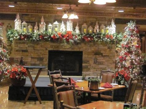 dobyns dining room branson mo the fireplace hearth in the dining room picture of
