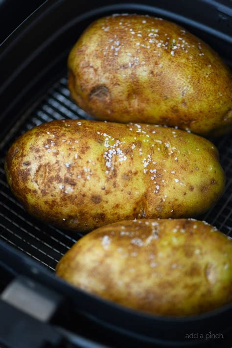 fryer potato air baked recipe potatoes easy recipes fried addapinch pinch then oven fry chicken power quick makes frying oil