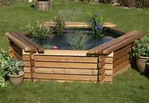 Plante Pour Bassin Extérieur : comment construire notre propre bassin de jardin en bois ~ Premium-room.com Idées de Décoration