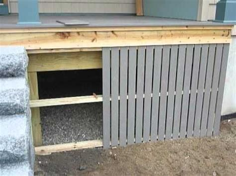 wood skirting for mobile homes using composite materials for weather resistant skirting 1947