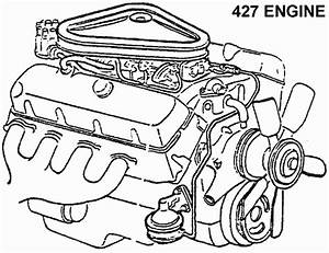 427 Engine - Diagram View