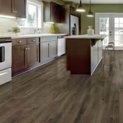 kitchen flooring home depot trafficmaster allure plus 5 in x 36 in northern hickory grey luxury vinyl plank flooring 22 5
