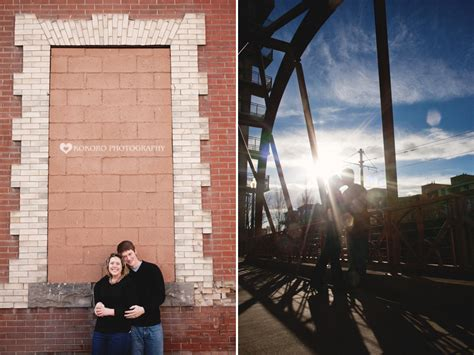 katie  kolton downtown denver engagement