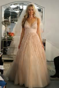 blush plus size wedding dress blush colored mermaid wedding dresses images