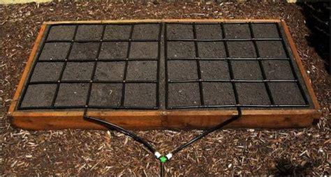 garden grid drip irrigation system offers