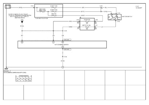 HD wallpapers wiring diagram for auto dimming mirror