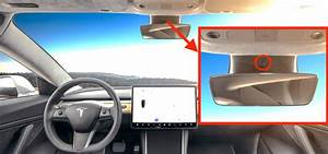 Tesla reveals how it will use camera inside Model 3 to personalize in-car experience - Electrek