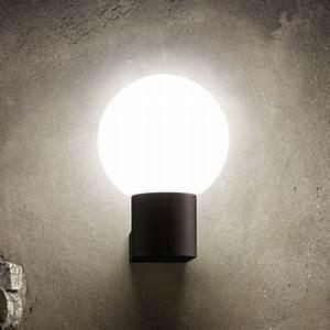 Applique Extérieure Gris Anthracite : lampe applique luminaire et clairage de jardin design ~ Dailycaller-alerts.com Idées de Décoration