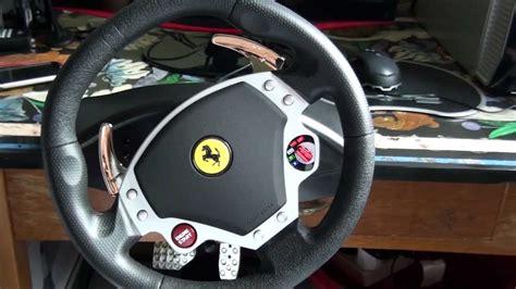 F430 Steering Wheel by Thrustmaster F430 Racing Wheel Review Hd