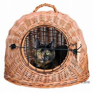 Panier Pour Petit Chien : panier de transport en osier naturel cage de transport pour chat et petit chien zooplus ~ Teatrodelosmanantiales.com Idées de Décoration