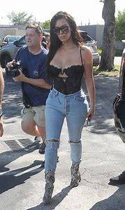 Kim Kardashian Jean Looks