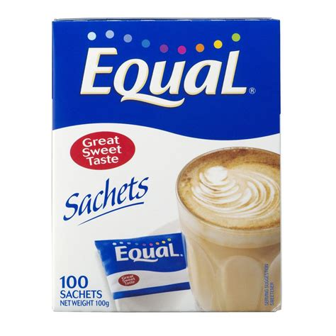 Equal Sachets 100 Pack Ebay