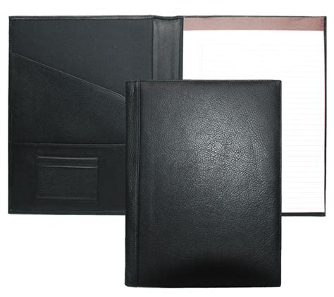 Black Folder For Resume by Leather Padfolios Leather Folios Custom Padfolio Covers