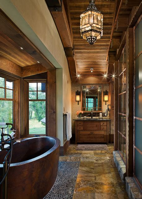 outstanding rustic bathroom designs  youre