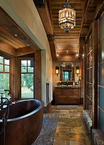 15 Outstanding Rustic Bathroom Designs That You U0026 39 Re Going