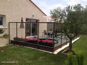 Brise Vue Sur Pied : brise vent en verre pour terrasse ~ Premium-room.com Idées de Décoration