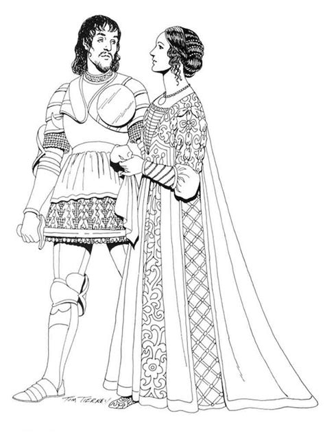 historical fashion coloring pages  printable