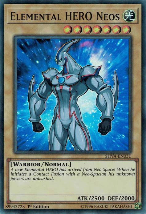 elemental hero neos yugipedia yu gi  wiki