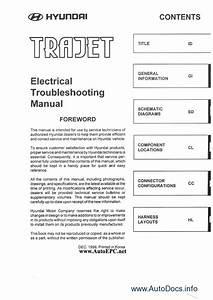 Wiring Diagram Hyundai Trajet