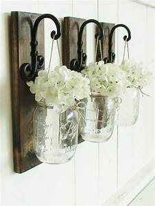 best 25 mason jar sconce ideas on pinterest mason jar With kitchen colors with white cabinets with hanging jar candle holders