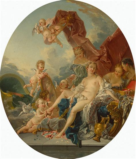 the toilet of venus toilet of venus by fran 231 ois boucher artinthepicture