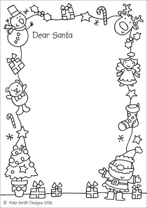 letter  santa templates  kids christmas